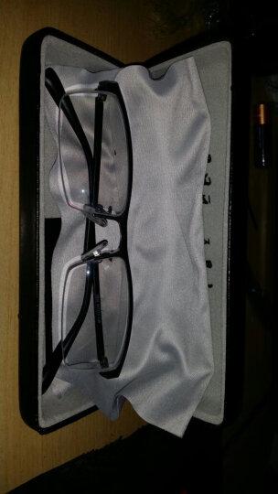 目匠 防辐射近视眼镜男女款 超轻眼镜框架防蓝光护目镜 7828 镜架(备注颜色)+1.61变色镜片0-800度 晒单图
