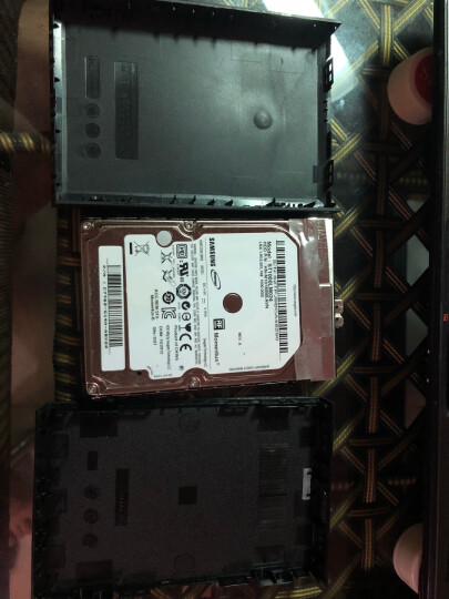 索厉(suoli)12.7mm笔记本光驱位SATA硬盘托架硬盘支架(适合SSD固态硬盘/带防震弹片/四通道/钽电容/SLA10) 晒单图