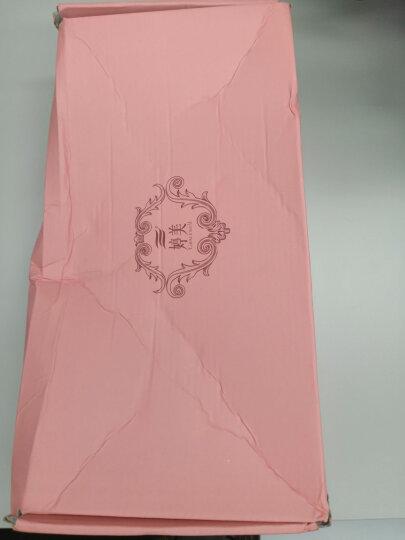 婷美聚拢文胸 薄款大码调整型收副乳女士胸罩内衣QW0027 宝石蓝 80C 晒单图