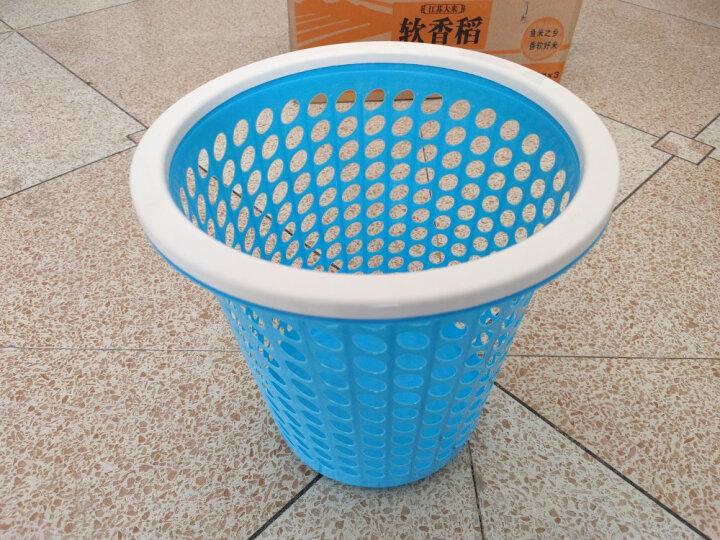 艺姿家用大号软塑干湿分类压圈垃圾桶圆形纸篓垃圾筒YZ-GB105 晒单图