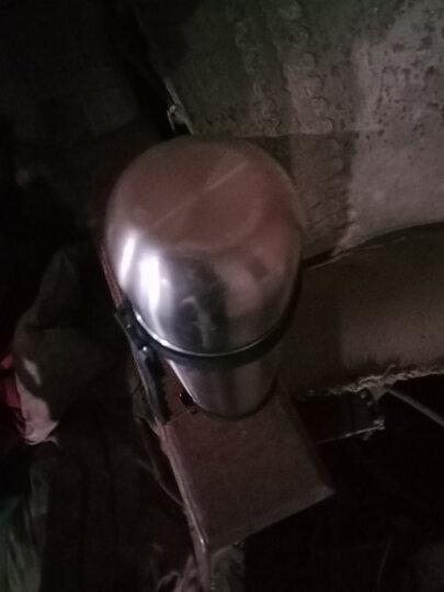 哈尔斯(HAERS) 哈尔斯保温杯男女士 不锈钢大容量户外车载保冷保温壶水杯子1200ml 本色+壶套 晒单图