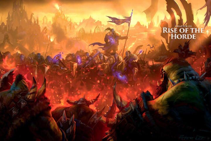 World of Warcraft Chronicle  魔兽世界编年史 英文原版 晒单图