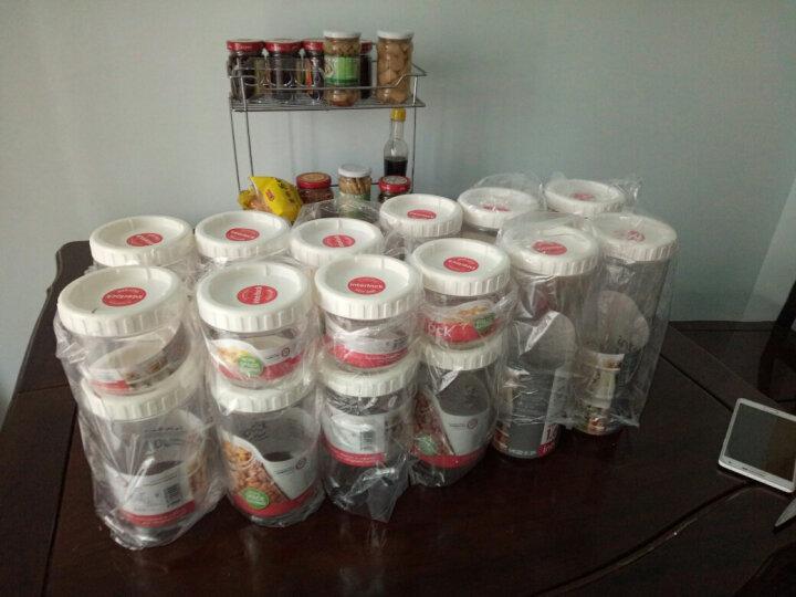 乐扣乐扣(LOCK&LOCK)调料罐五谷杂粮瓶  新概念储物罐 冰箱收纳保鲜 零食密封罐多件 塑料 kitty四件套 晒单图