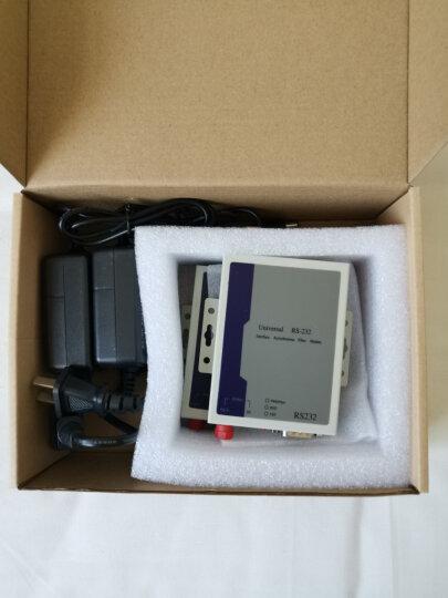 拓宾 (TUOBIN)RS485数据光端机 RS485光猫 RS232/422串口光端机一对 1路RS485双向数据 FC接口 晒单图
