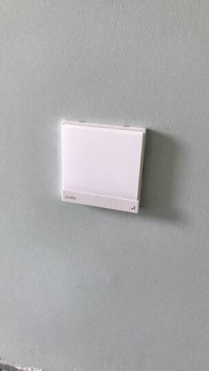 罗格朗开关插座壁脚灯逸典玉兰白智能光感感应灯地脚灯带光感86型指示灯小夜灯 晒单图