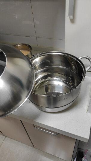 美厨(maxcook)二层蒸锅 不锈钢加厚复底30CM 电磁炉通用 蒸煮两用MCZ196 晒单图