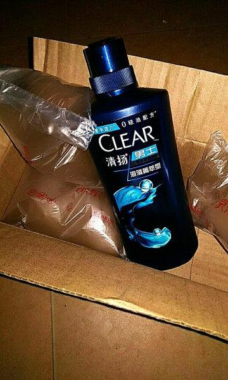 清扬(CLEAR)无硅油洗发水 男士去屑洗发露海藻菁萃型500g(去屑净透)(洗发露)(新老包装随机发)(氨基酸洗发) 晒单图