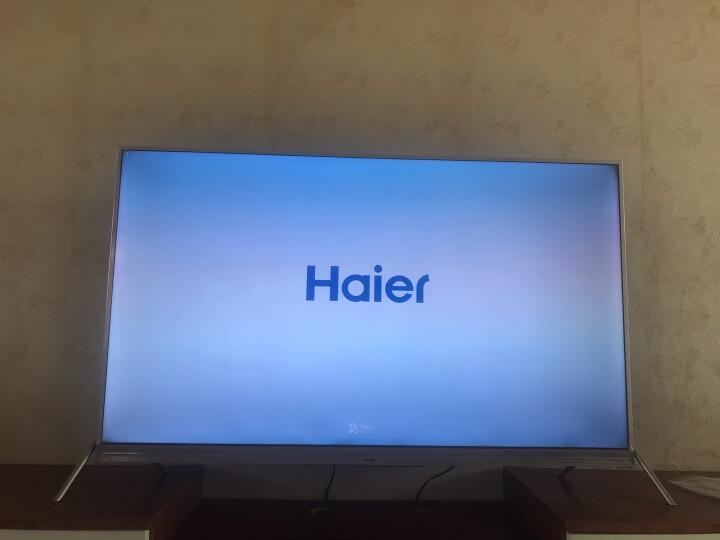海尔 (Haier)LS55A51 55英寸4K超高清智能LED纤薄液晶电视(金色/黑色)随机发货 晒单图