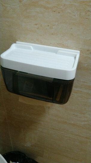 晟旎尚品 浴室卫生间置物架 免打孔 卫生间纸巾盒 防水厕所纸巾架 晒单图