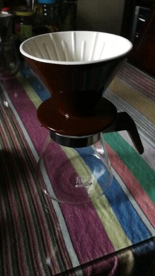 欣予(XINYU) 欣予 咖啡机 手冲咖啡壶套装家用4人份滴漏式陶瓷滤杯细口壶分享组合器具 专业级金色套装 晒单图