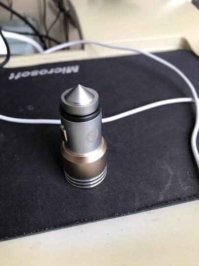 毕亚兹 车载充电器+三合一 (苹果/安卓/Type-c)手机数据线套装 MC7+K6车充数据线套装 晒单图
