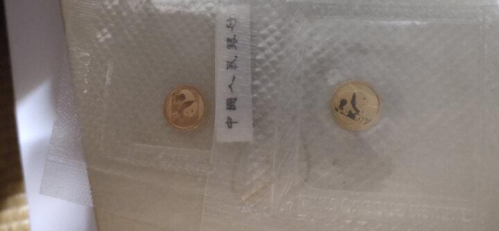 河南中钱 中国金币 2016年熊猫金币各个规格 1g金+30g银 晒单图
