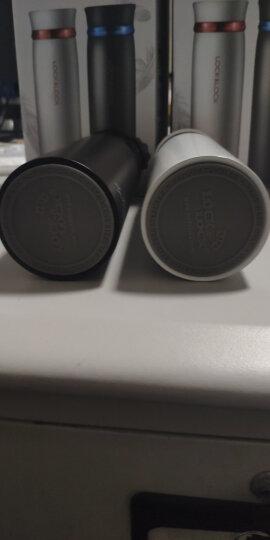 乐扣乐扣(LOCK&LOCK) 不锈钢保温杯 情侣学生商务水杯 菲特旋转盖轻量杯450ml白蓝 LHC4131WB 晒单图