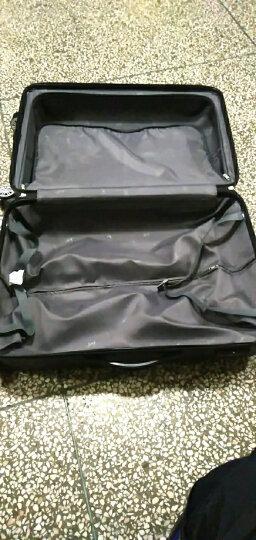 博兿(BOYI)拉杆箱24英寸男女双轴承万向轮旅行箱钻石纹系列行李箱 BY12002粉红 晒单图
