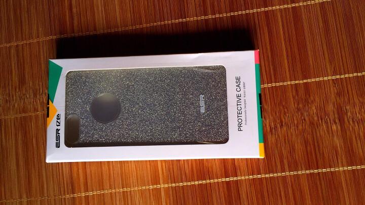 亿色(ESR)iPhone SE/5s手机壳/保护套 苹果5S手机套 金属边框 原畅系列 深空灰 晒单图