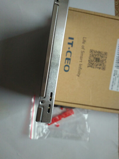 IT-CEO 12.7mm笔记本光驱位SATA硬盘托架硬盘支架 银色 (适合SSD固态硬盘/带开关/镂空版/W6GQ-12A) 晒单图