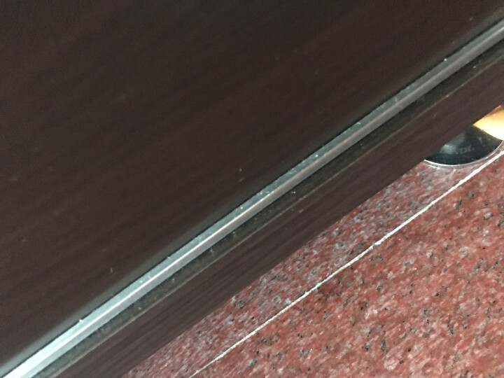 白地角线墙贴pvc自粘防水踢脚线窗台门框翻新贴浴室瓷砖腰线 帝黄玉 小 晒单图