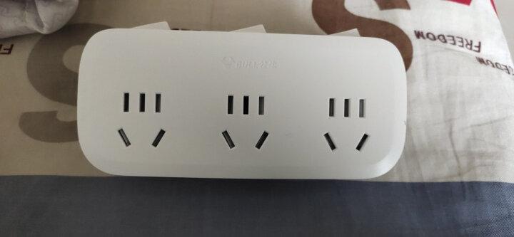 公牛(BULL)转换插头/一转三插座/无线转换插座/电源转换器 3位分控插座GN-9333 晒单图