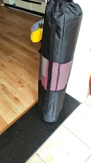 奥义 瑜伽垫NBR185*80cm印花男女加宽加厚10mm防滑健身垫 环保多功能运动垫 水蓝莲花送绑带背包 晒单图
