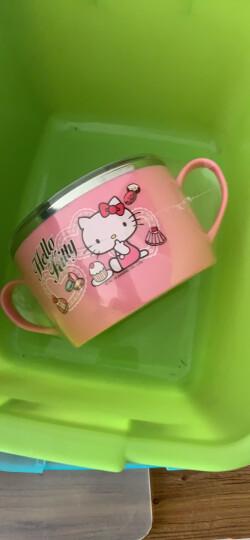 乐扣乐扣(LOCK&LOCK)韩国进口HELLO KITTY蝴蝶结勺叉子套装 儿童学生便携餐具2件套LKT015 晒单图