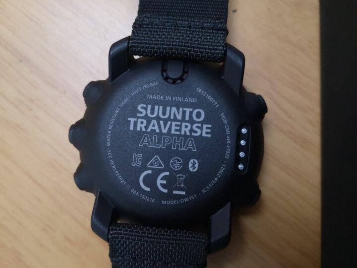 颂拓(SUUNTO)手表 TRAVERSE远征系列GPS多功能户外运动松拓男表远征阿尔法黑色军表SS022469000 晒单图