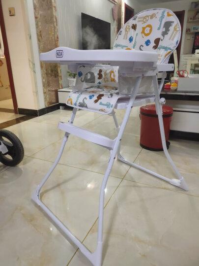 孩子家婴儿餐椅儿童多功能宝宝餐椅可折叠便携式吃饭桌椅座椅 韩式餐椅(不可折) 晒单图