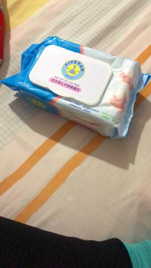 五羊(FIVERAMS)婴儿加厚倍柔湿巾80片×6包宝宝湿纸巾抽纸湿巾 晒单图