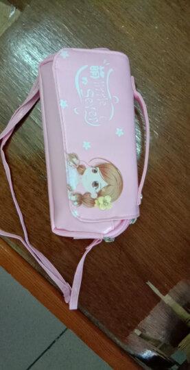 猫太子(MAOTAIZI)笔袋手挽大容量翻盖文具袋小学生铅笔盒女生文具盒韩版铅笔袋 晒单图