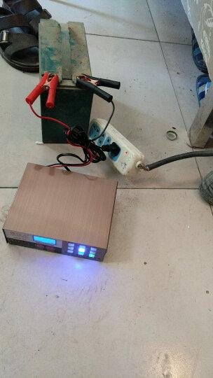【京东极速送货】微红人 智能数显汽车电瓶充电器12V24V伏小车摩托车轿车货车修复冲蓄电池充电机纯铜 晒单图