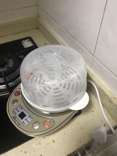 小熊(Bear)煮蛋器 家用早餐迷你机蒸蛋器自动断电微电脑预约定时双层可煮14个蛋 ZDQ-C14A1 晒单图