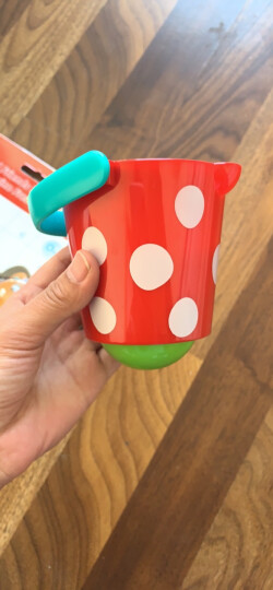 Hape洗澡玩具0-1-3周岁婴儿戏水沐浴套装泰迪熊漂浮喷水花洒桶亲子互动男女孩宝宝礼物 E0205花式水漏组合套 晒单图