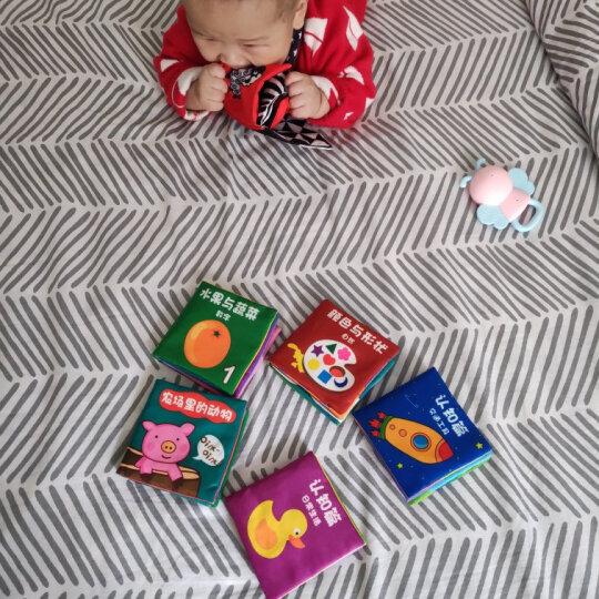 LALABABY/拉拉布书布卡 动物与数字 撕不烂可水洗 识字卡 认知卡片 晒单图