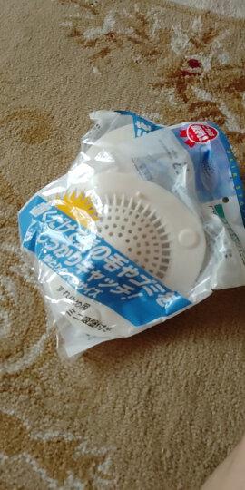 妙记圆形毛发过滤网地漏盖子盖片浴室下水道浴缸防头发塞子 毛发过滤网大号 晒单图