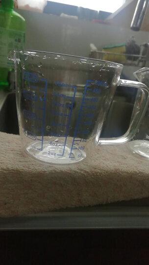 一屋窑 量杯牛奶玻璃杯 家用厨房带刻度耐热计量杯 微波炉可加热 烘焙工具500ml FH-3439M 晒单图
