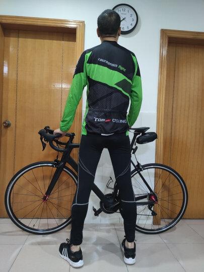 拓朴骑行服长袖春夏季薄款定制自行车衣服装备配件吸湿排汗热轮滑动感单车服上衣 SAE141 XXL 晒单图