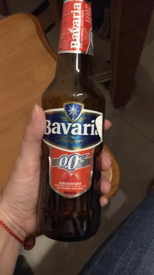 荷兰进口无醇啤酒  魔法力(宝华丽)果味无醇啤酒 草莓味330ml*6瓶 晒单图