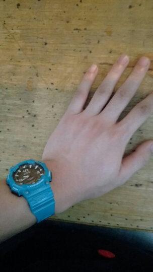 卡西欧(CASIO)男表 手表太阳能运动电子户外防水夜光大表盘时尚学生男士手表 AQ-S800W-1B 晒单图