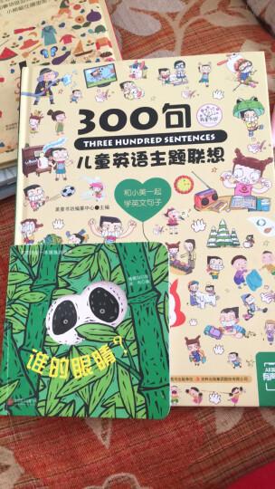 童立方·猜猜我是谁洞洞纸板游戏书:谁的耳朵?+谁的尾巴?+谁的嘴巴?+谁的眼睛?(套装全4册) 晒单图