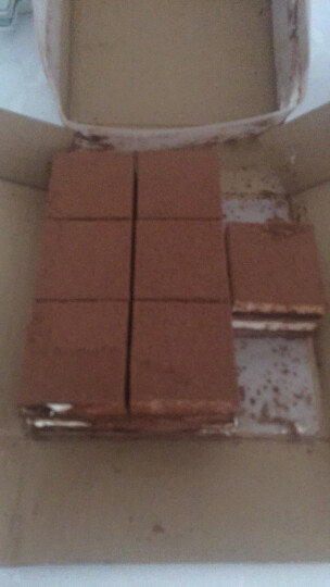 约翰丹尼 双色巧克力慕斯 冷冻蛋糕 950g 16片 7夕情人节蛋糕 晒单图