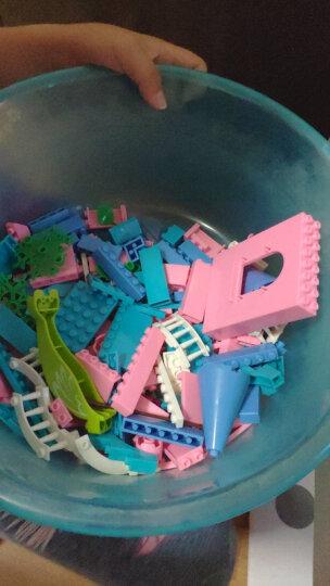 邦宝积木拼插儿童玩具 小颗粒5岁以上男孩女孩玩具拼装积木过家家礼物沙滩系列  水上乐园6141 晒单图