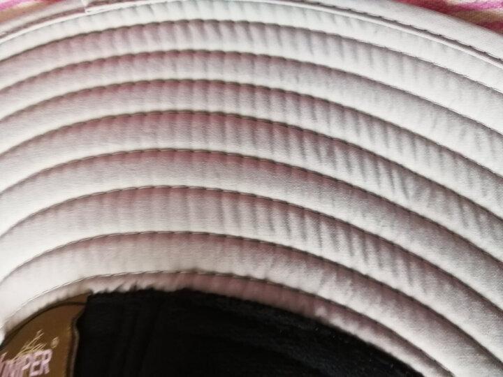 JUNIPER遮阳帽男户外防紫外线防晒帽子女夏天大檐登山速干透气钓鱼渔夫帽男士大头围太阳帽 浅灰色(挺阔有型) 建议59-62cm(一般及稍大男士头围,调节大小) 晒单图
