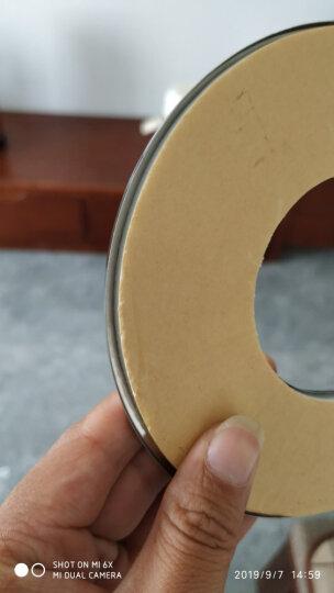 勒洁雅 燃气热水器配件304不锈钢排烟管加厚排气管废气排风管加长延长管 6CMX100CM不锈钢波纹管 晒单图