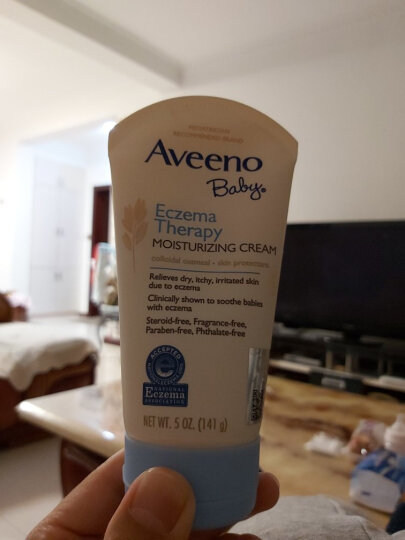 美国品牌 艾惟诺(Aveeno) 婴儿保湿润肤身体乳 227g 宝宝儿童润肤露面霜 原产地随机发货 晒单图
