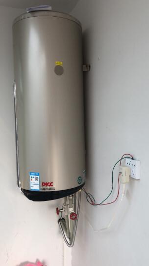 四季沐歌(MICOE)OP-B阳台壁挂太阳能热水器 带电加热 平板家用分体式 节能热水器100L 120L 晒单图