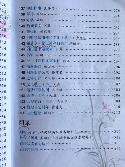小学生必背古诗词70+80首 晒单图