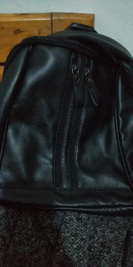 名夏新款双肩包女新品背包女士韩版大容量学院风书包休闲时尚辣妈女包 双拉链款 #20 晒单图