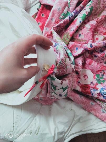 富安娜家纺  100%澳洲羊毛被子冬天全棉纯棉保暖加厚春秋羊毛被芯 澳洲羊毛二合一被 230x229cm(1.8/2米床适用) 晒单图