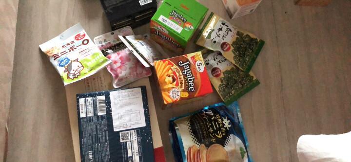 日本进口 白色恋人 北海道白巧克力 曲奇夹心饼干 饼干蛋糕 办公室休闲零食小吃 198g 18枚礼盒装 晒单图