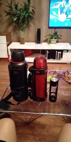 富光 金刚系列保温杯具 不锈钢大容量保温瓶 车载真空保温水壶 户外保温壶蓝色 2.2L(WFZ6019-2200) 晒单图