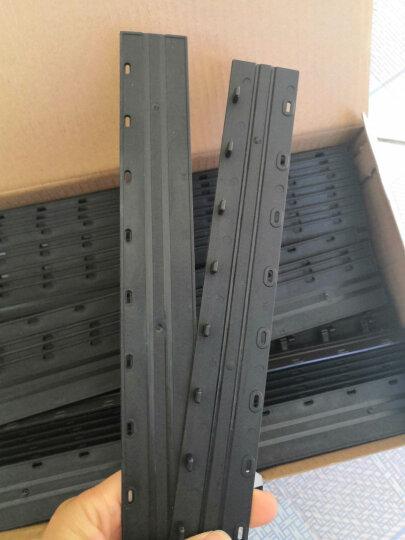 得力(deli)3874 省力型胶圈/夹条装订机 21孔可调文件打孔机 晒单图
